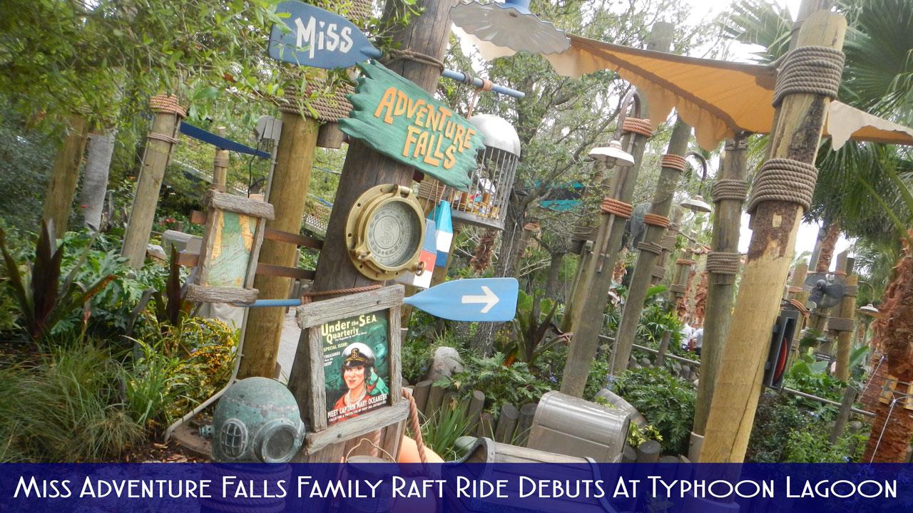 Typhoon Lagoon Miss Adventure Falls Title