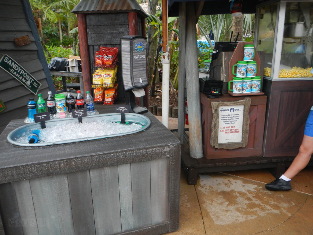 Typhoon Lagoon Rapid Refill