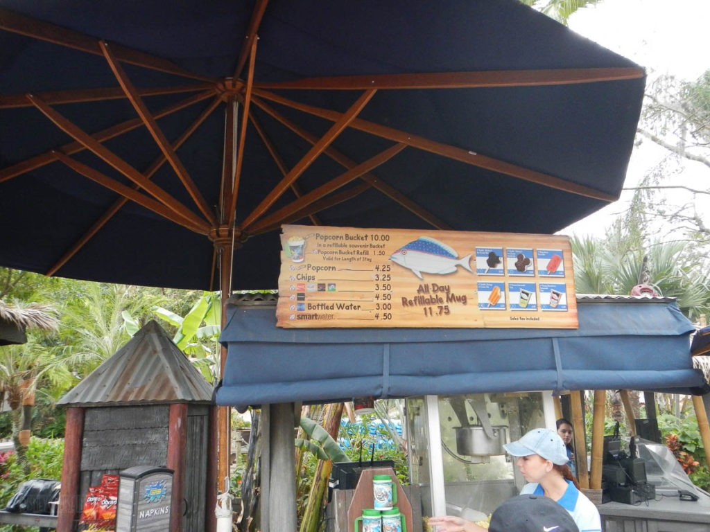 Typhoon Lagoon Snacks