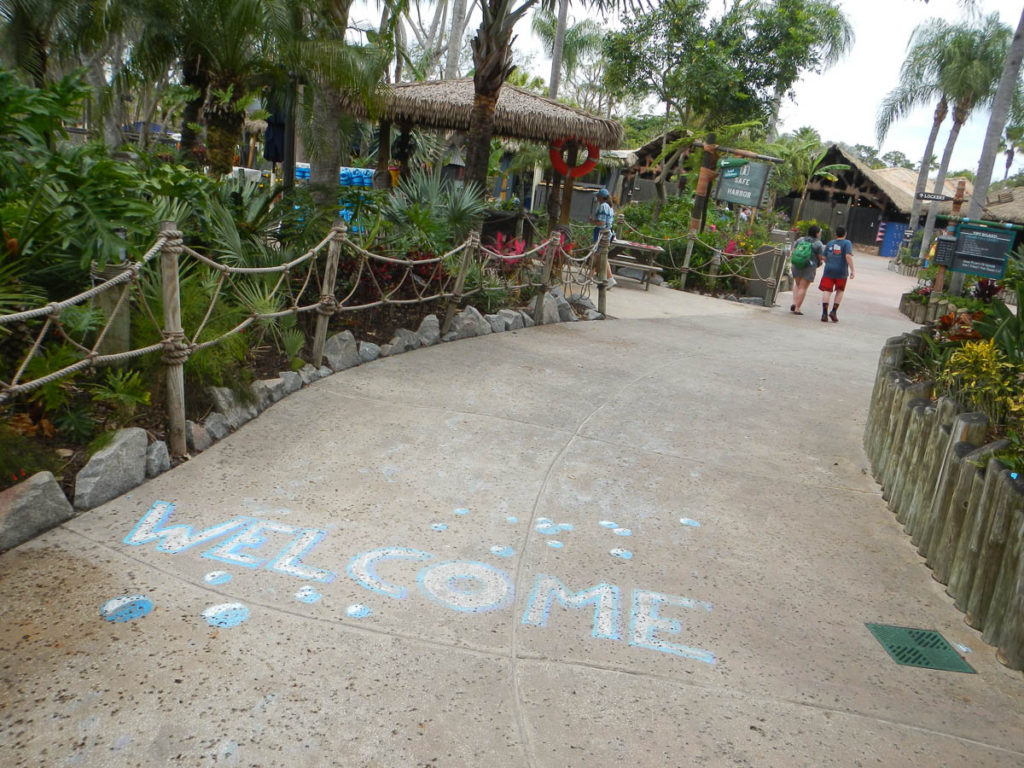 Typhoon Lagoon Welcome