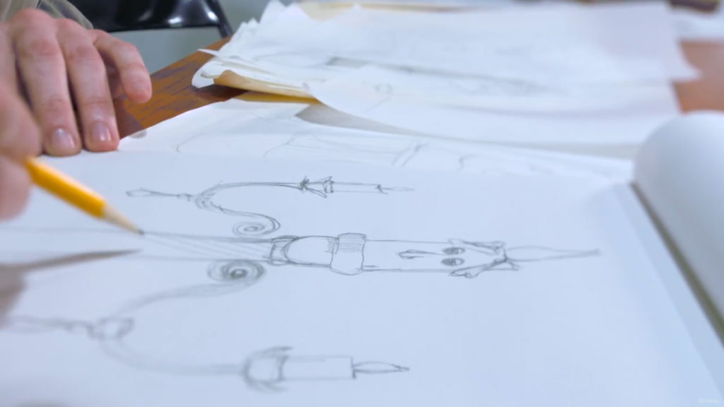 BatB Lumiere Pencil Drawing