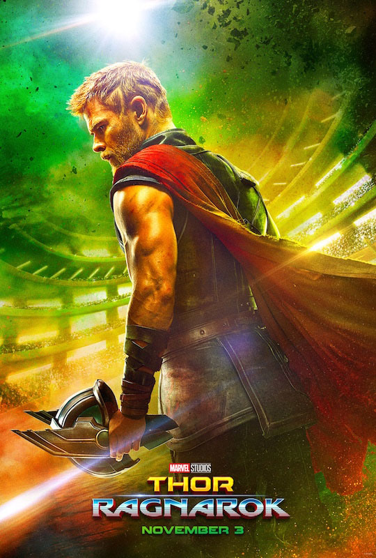 Thor Ragnarok Teaser Movie Poster