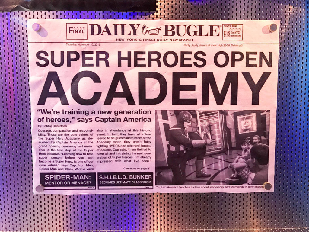 Wonder Marvel Super Hero Academy Daily Bugle