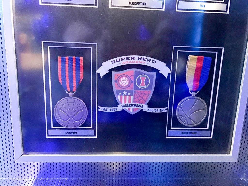 Wonder Marvel Super Hero Academy Medals