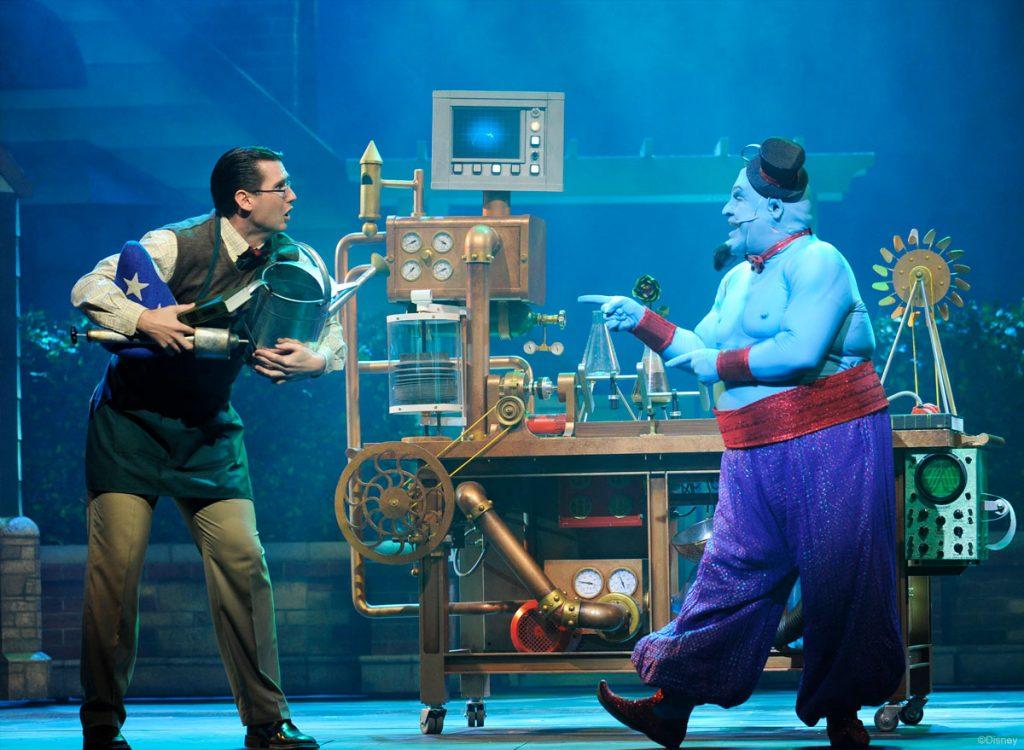 Disney's Believe DCL Promo Greenaway Genie