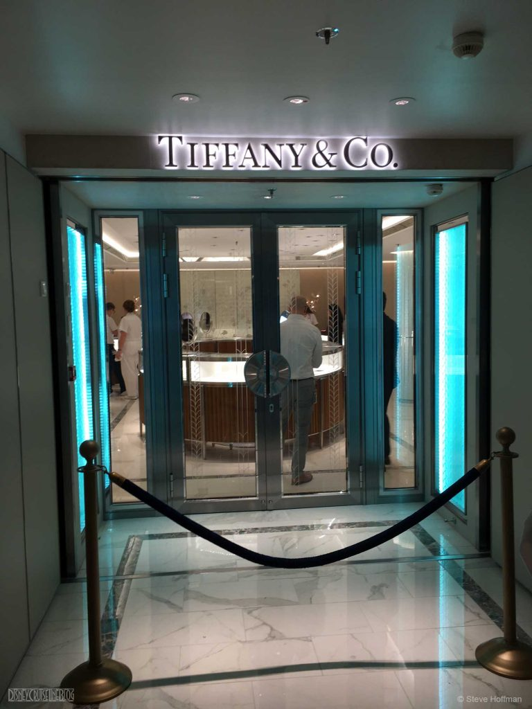 Fantasy Dry Dock Tiffany Entrance