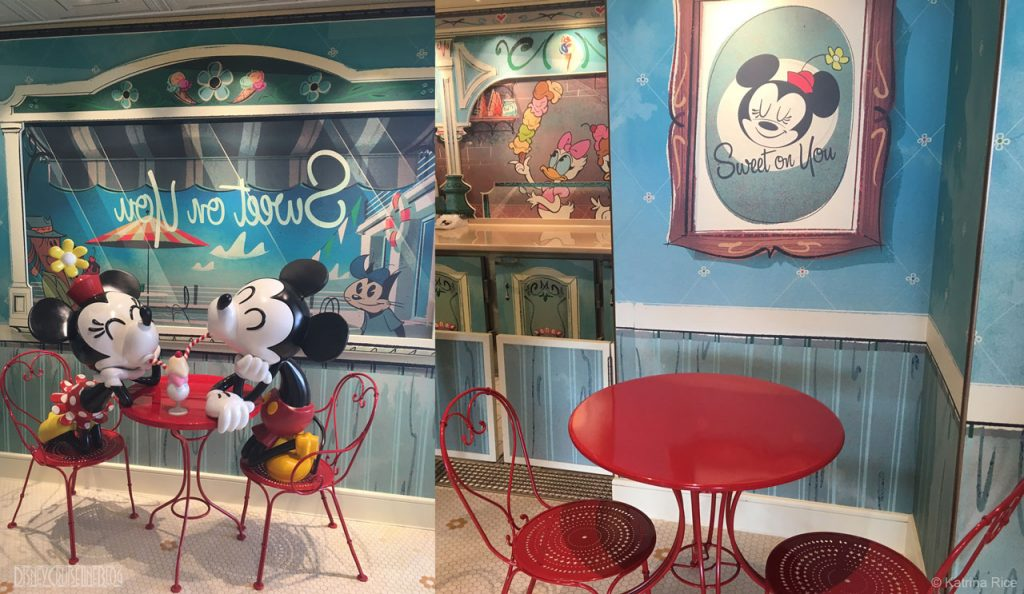 Fantasy Sweet On You Seating Mickey Minnie KRice