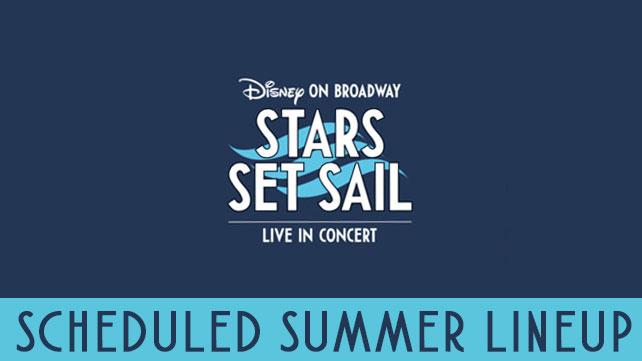Disney On Broadway Stars Set Sail Summer 2017