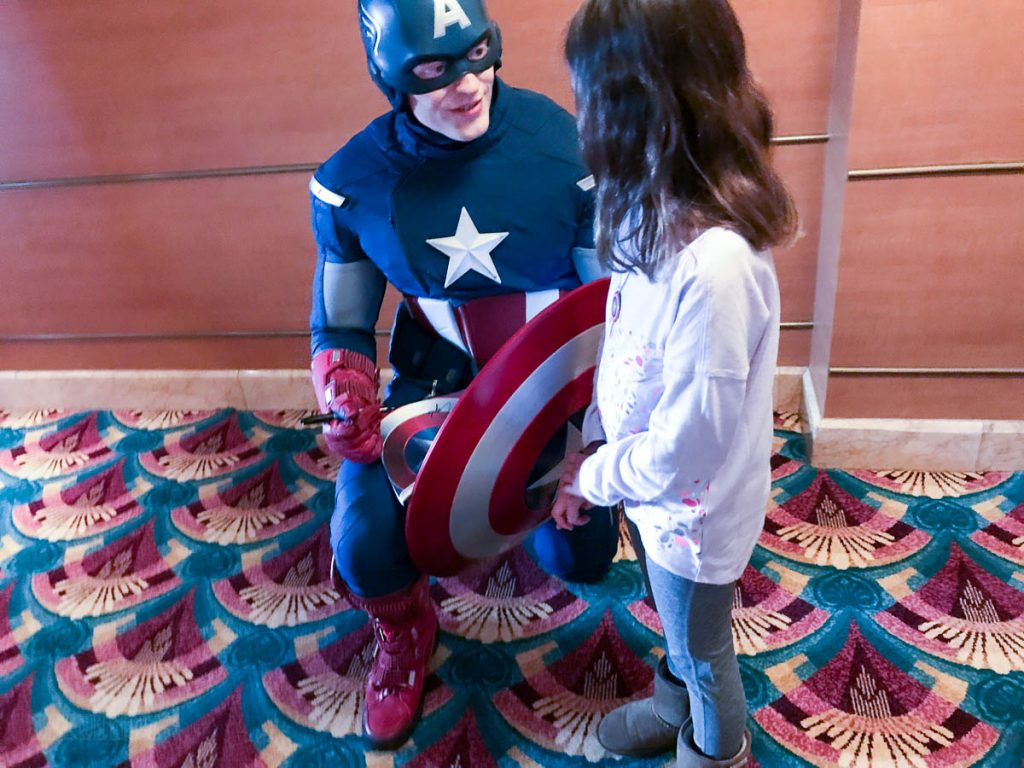 Captain America Meet & Greet