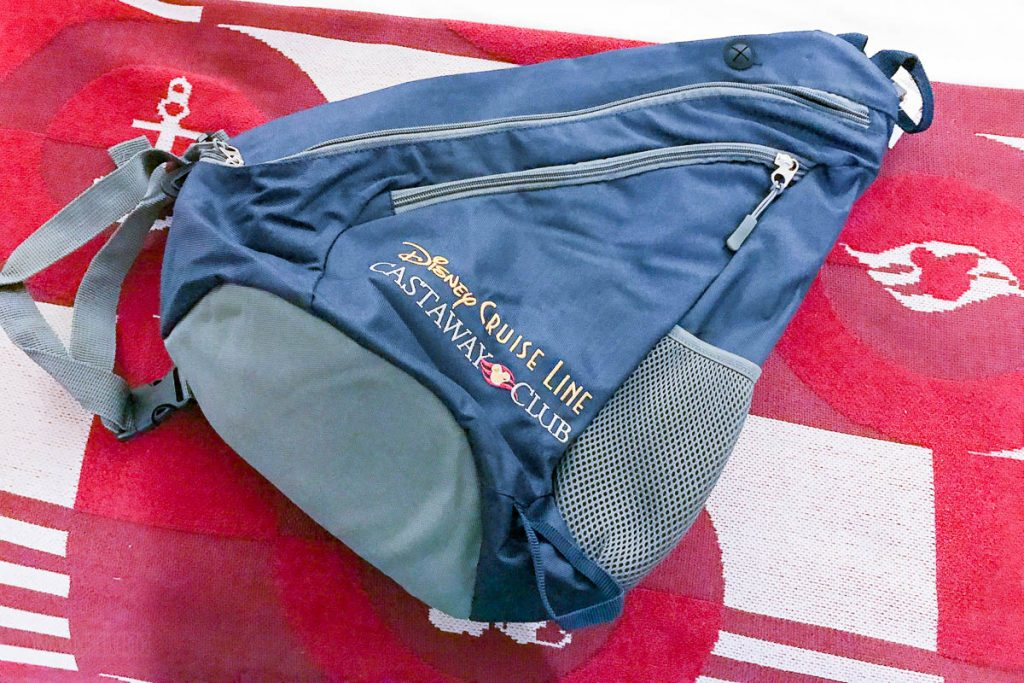 Castaway Club Stateroom Gift Backpack Alasksa 2017