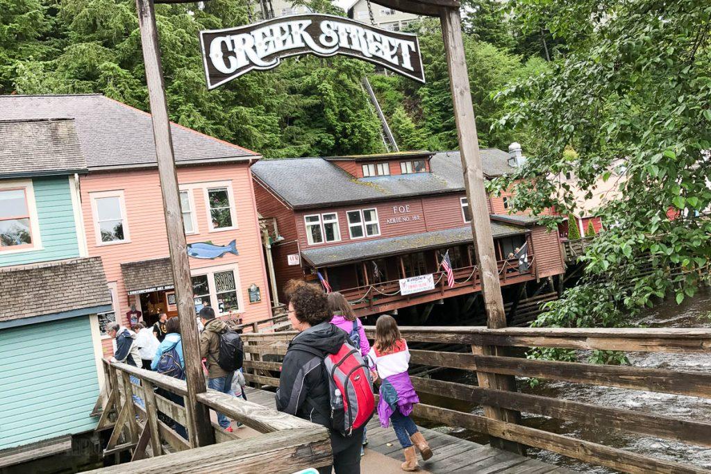 Creek Street Alaska