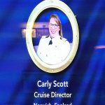 Cruise Director Carly Scott