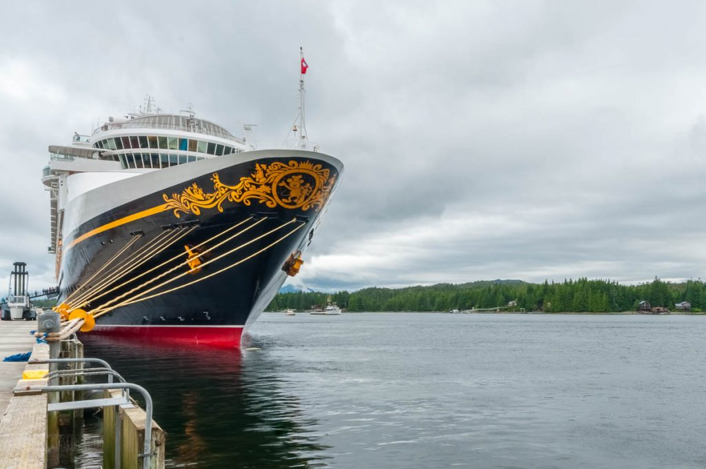 Disney Wonder Berth 1 Ketchikan