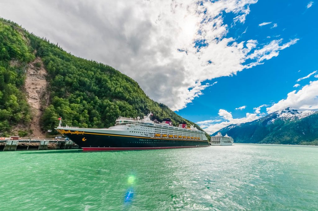 Disney Wonder Regent Seven Seas Mariner Port Of Skagway