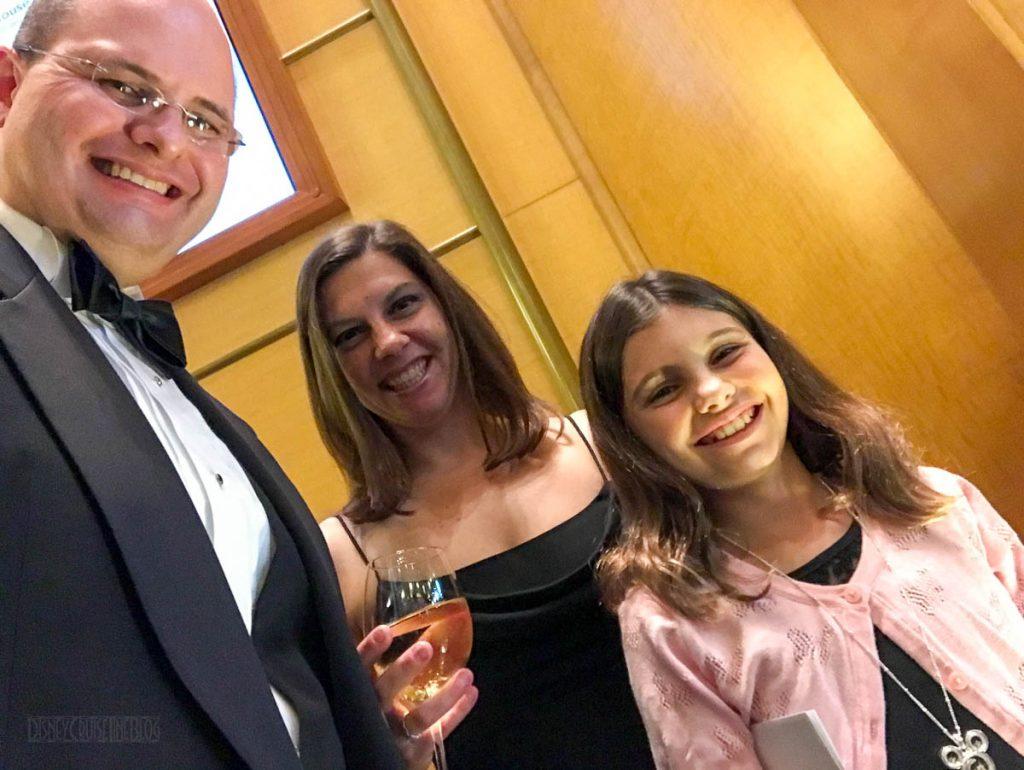 Formal Night Family Selfie