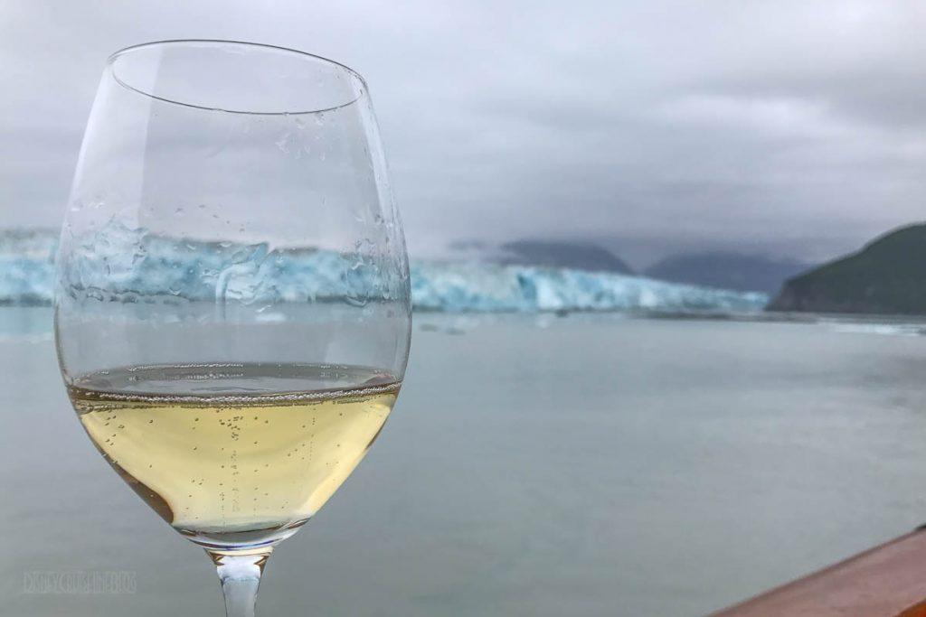 Hubbard Glacier + Taittinger