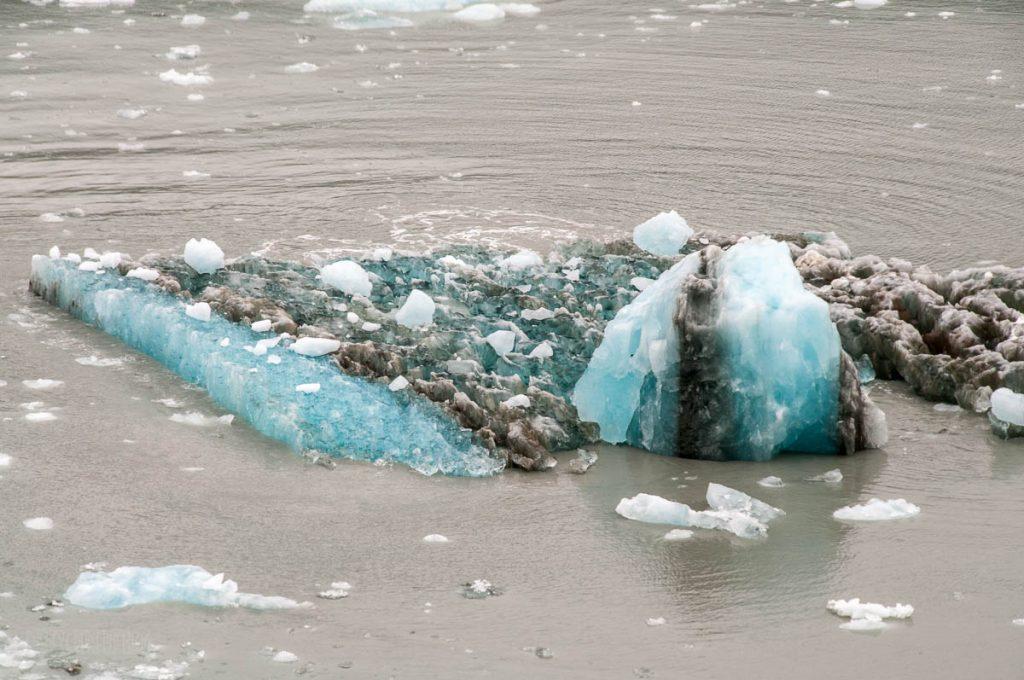 Hubbard Glaicer Ice Flow