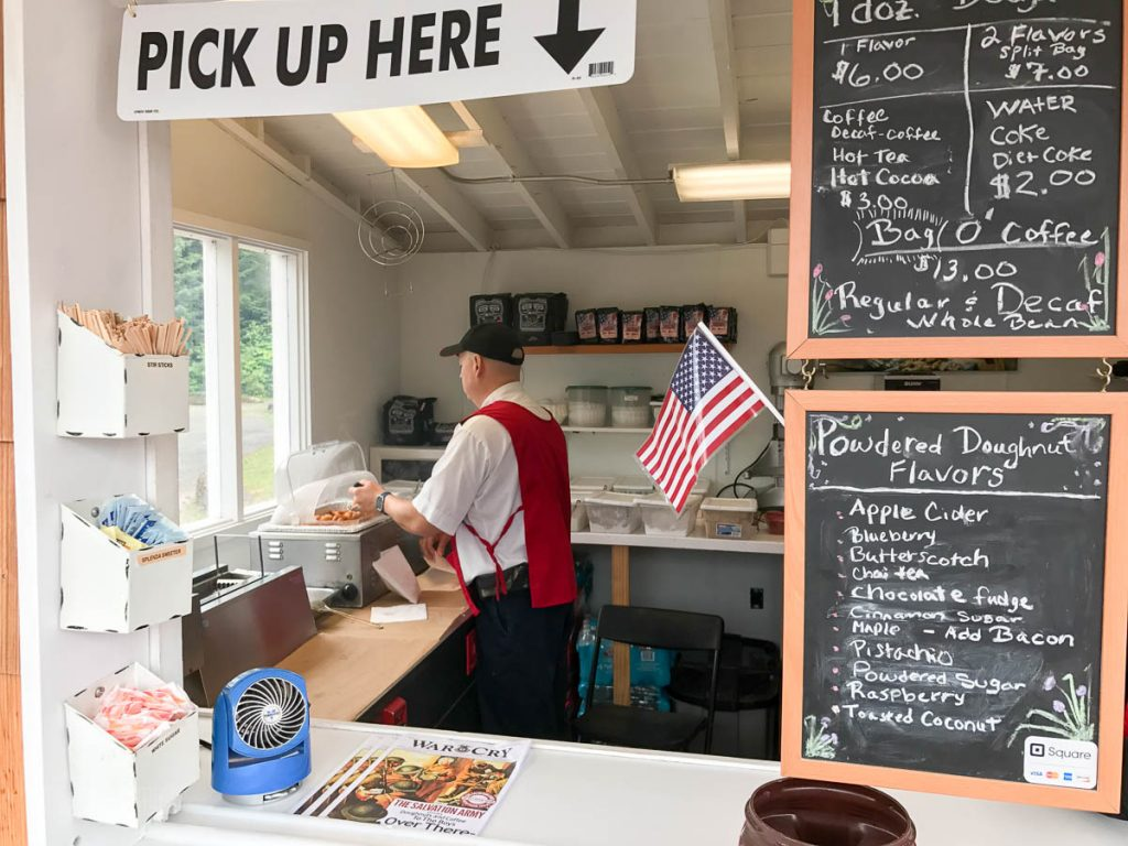 Icy Straight Point Donut Shop Menu