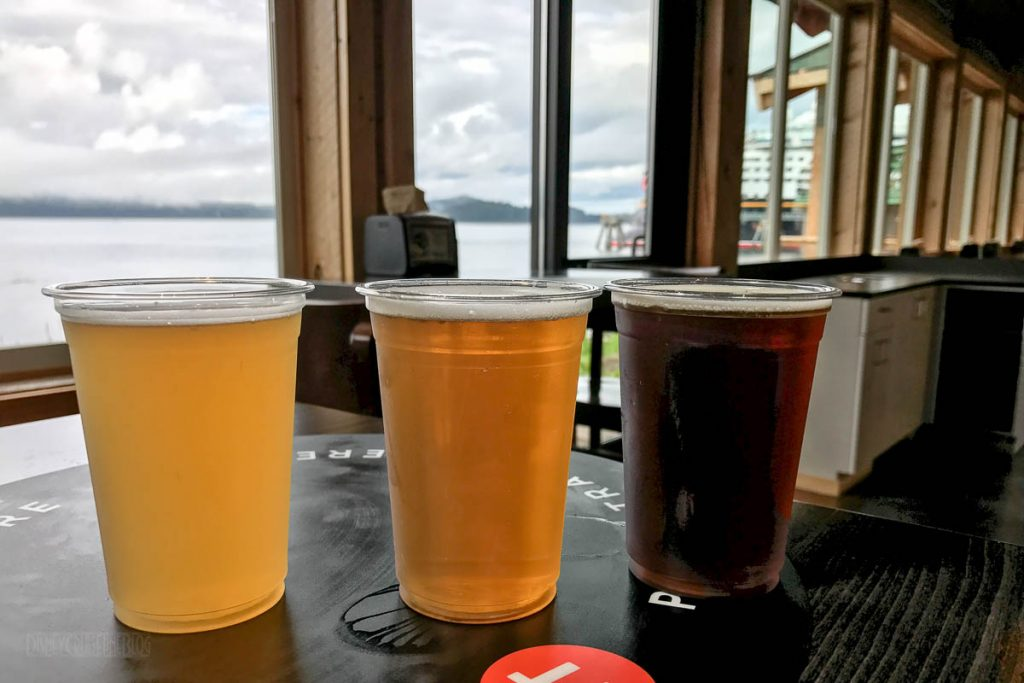 Icy Straight Point Duck Point Smokehouse Beer Tour