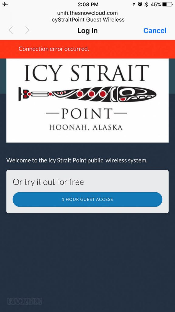 Icy Straight Point Free WiFi 1 Hour