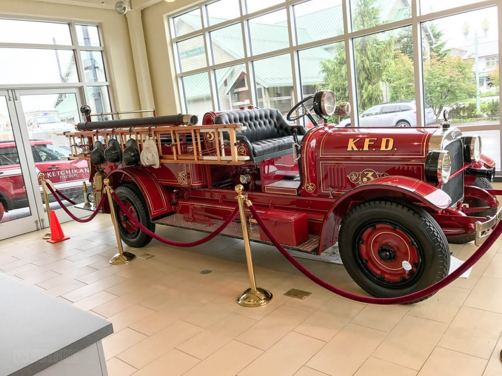 Ketchikan Fire Department Antique Truck