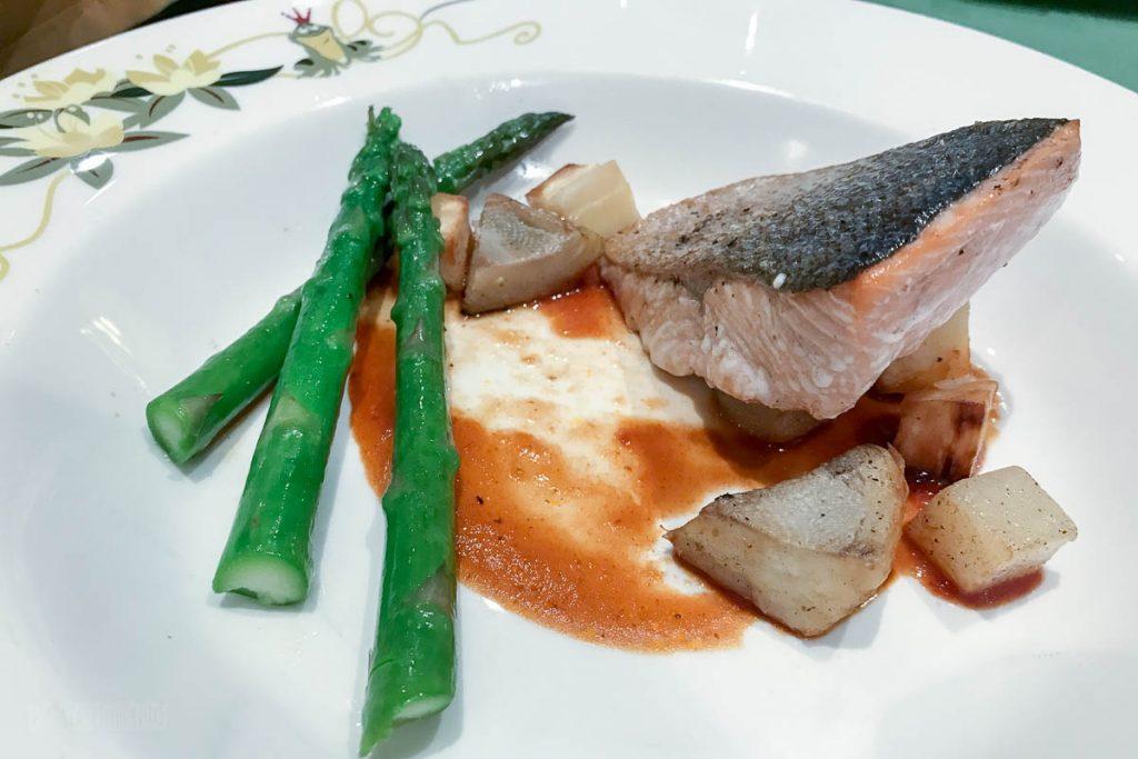 Let The Magic Begin Roasted Alaskan Salmon Filet