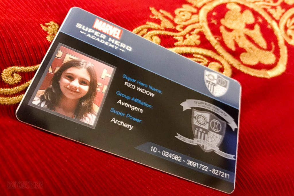 Marvel Super Hero Academy ID Card
