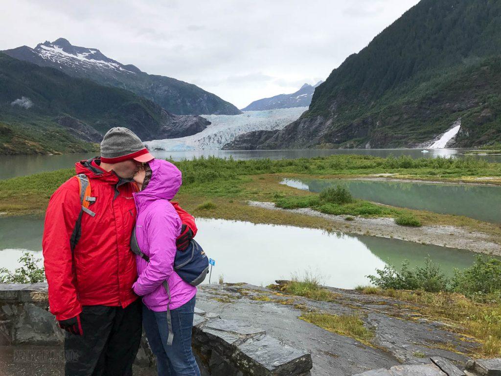 Mendenhall Glacier Kiss
