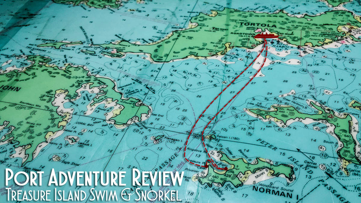 Port Adventure Tortola Treasure Island Swim Snorkel Review