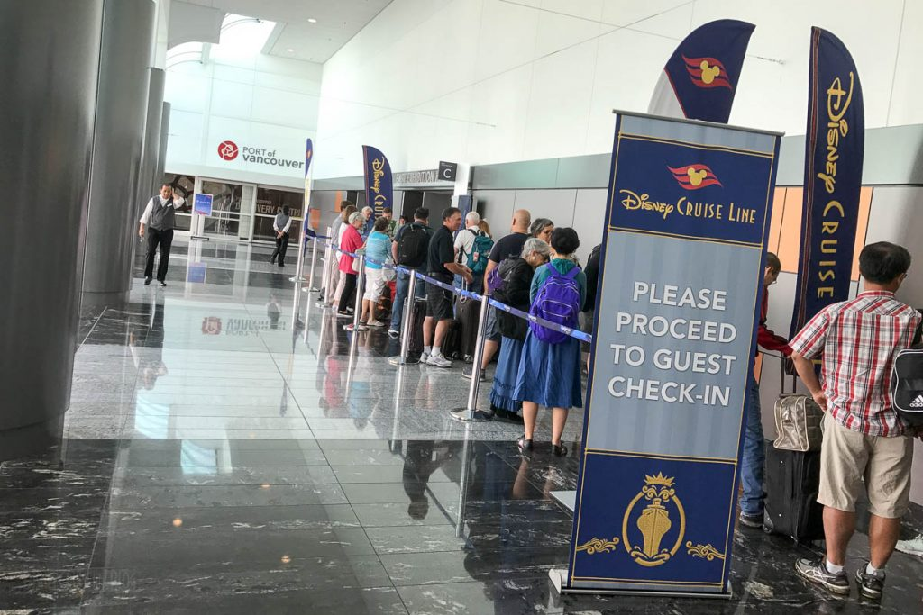 Port Of Vancouver DCL Check In Line