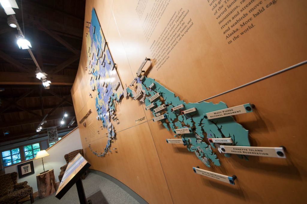Southeast Alaska Discovery Center Map