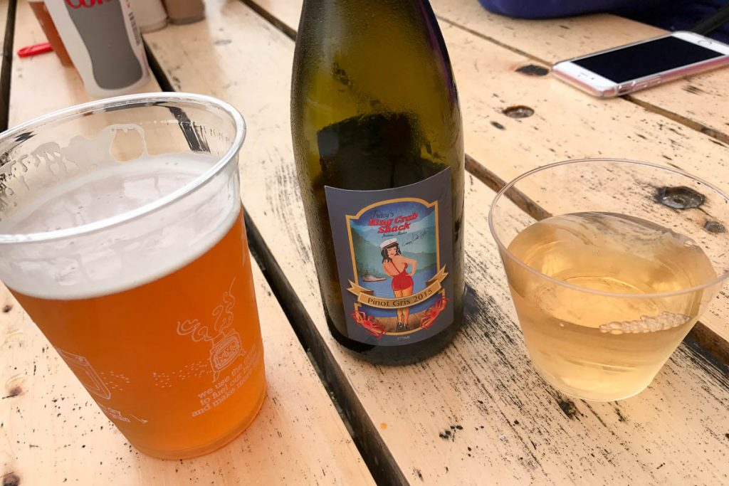 Tracy's Crab Shack House Pinot Gris 2015