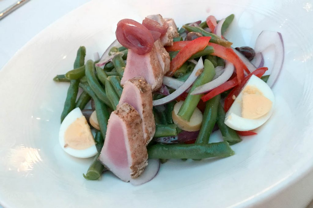 Triton's Ahi Tuna Niçoise Lighter Note Offerings