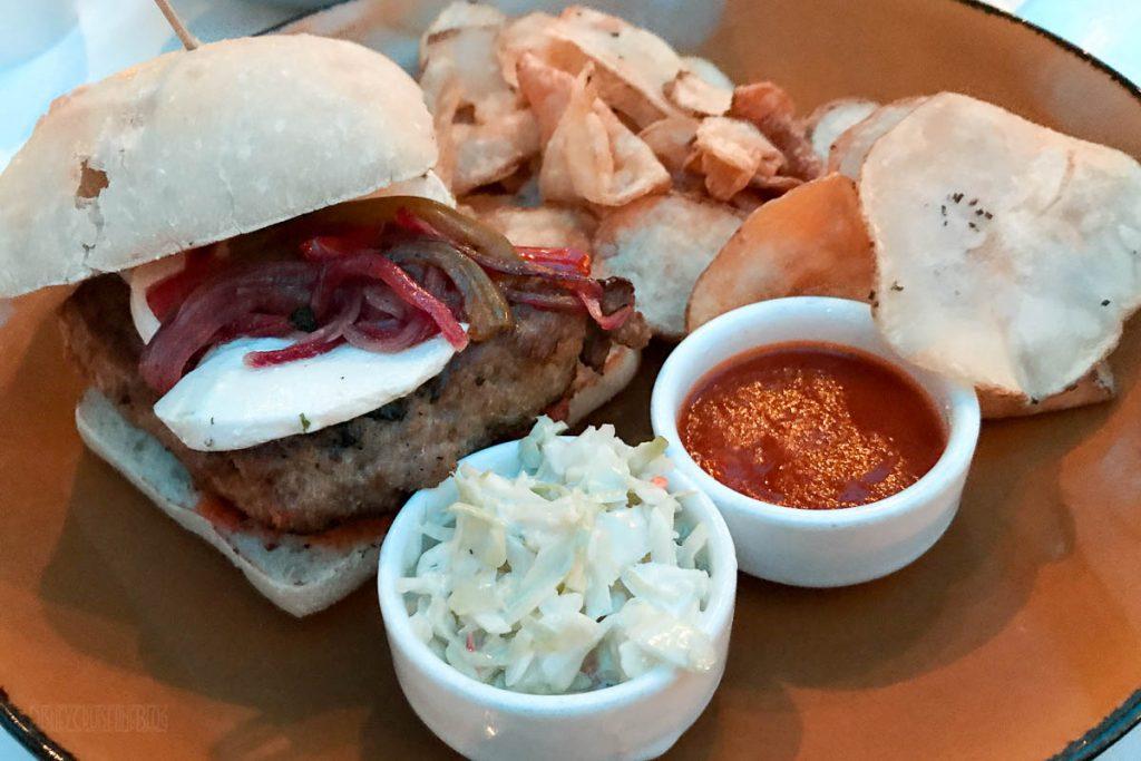 Triton's Lunch Bar Grilled Turkey Burger
