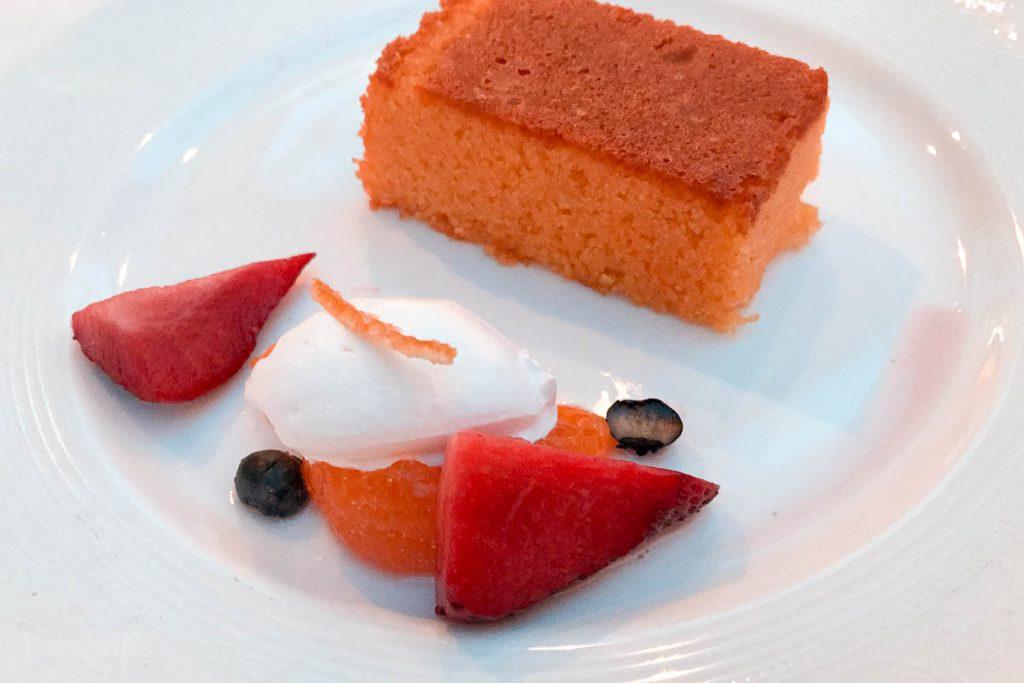 Triton's Lunch Dessert Citus Almond Cake