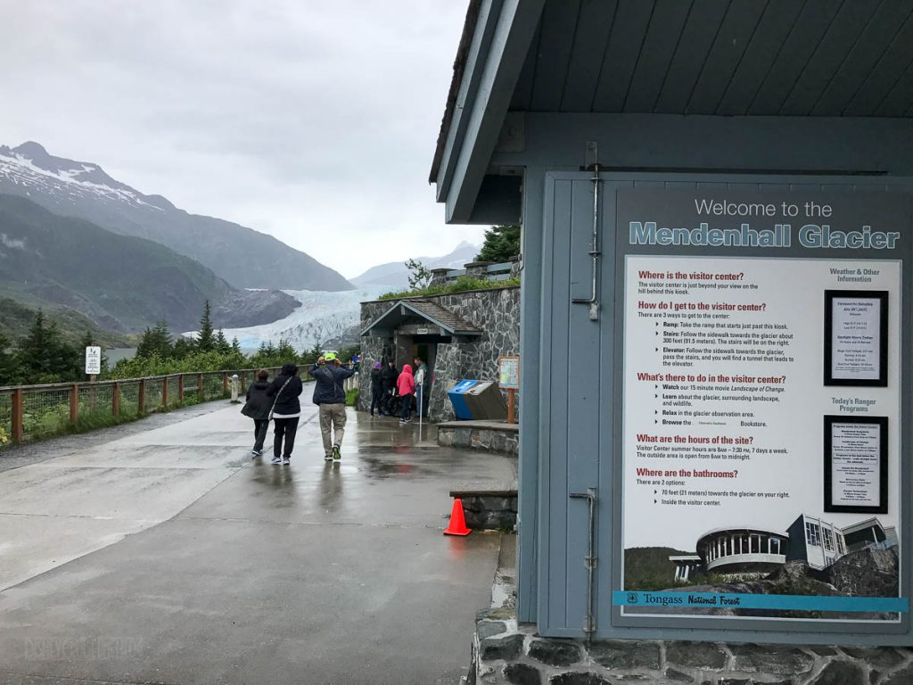 Welcome To Mendenhall Glacier