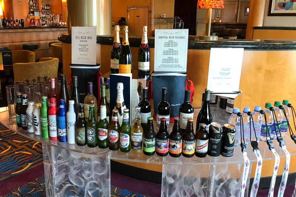 Wonder Alaska Beer Water Champange Packages