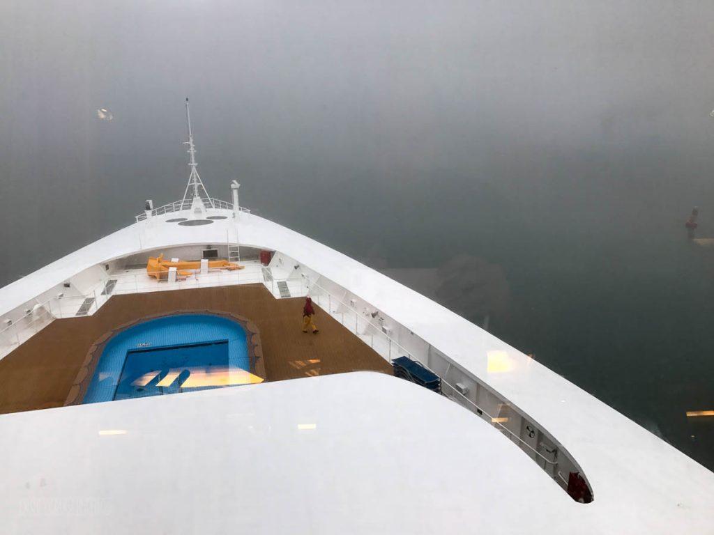 Wonder Arrival Foggy Juneau