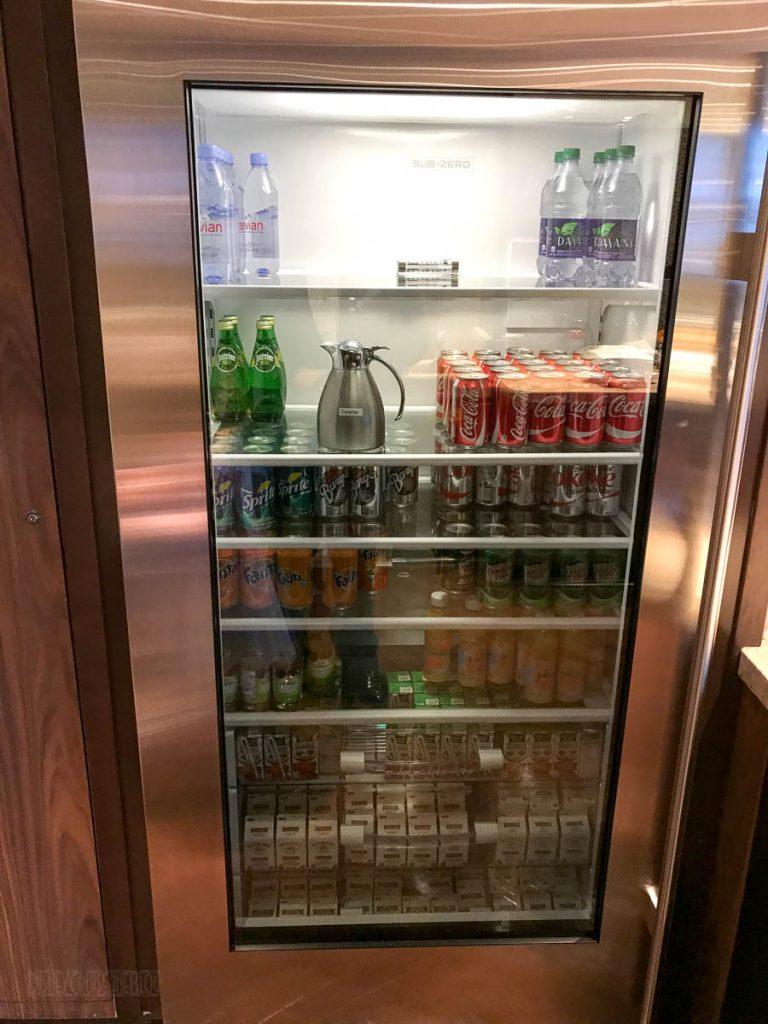 Wonder Concierge Lounge Cold Beverages