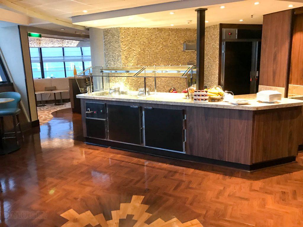 Wonder Concierge Lounge Food Service