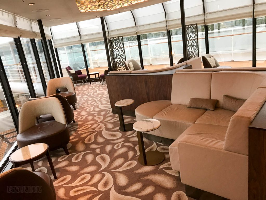 Wonder Concierge Lounge Seating Area
