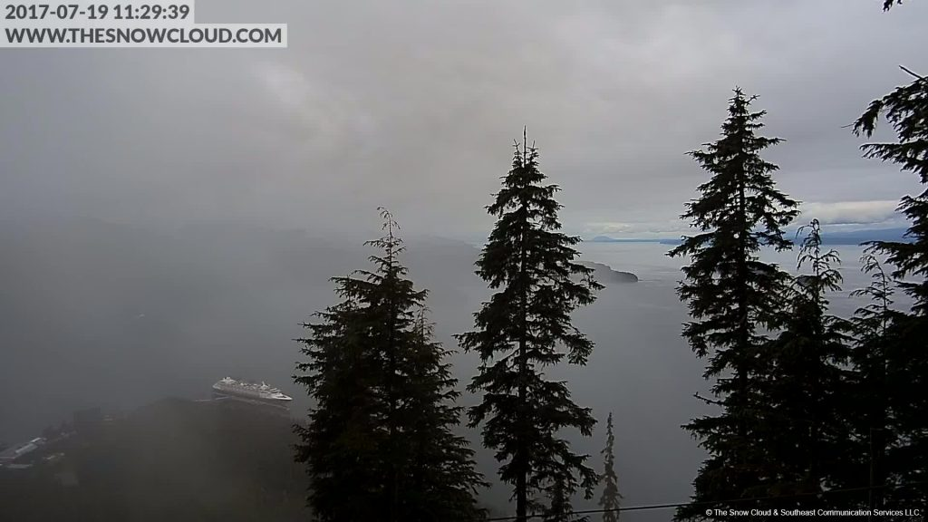 Wonder Icy Strait Point Inaugural Call Webcam 20170719