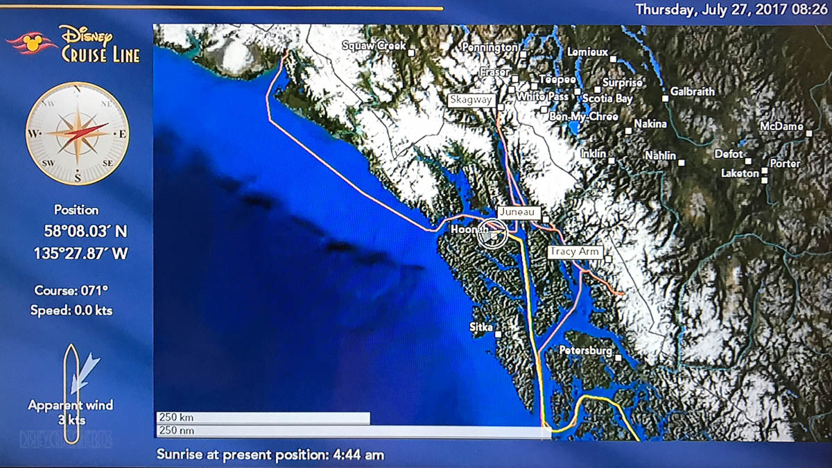Wonder Stateroom Map Day 4 Icy Straight Point 20170727