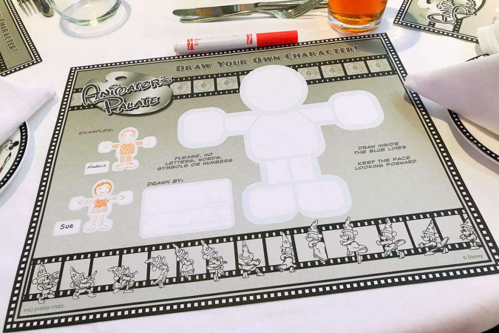 Animator's Palate Animation Magic Blank Placemat