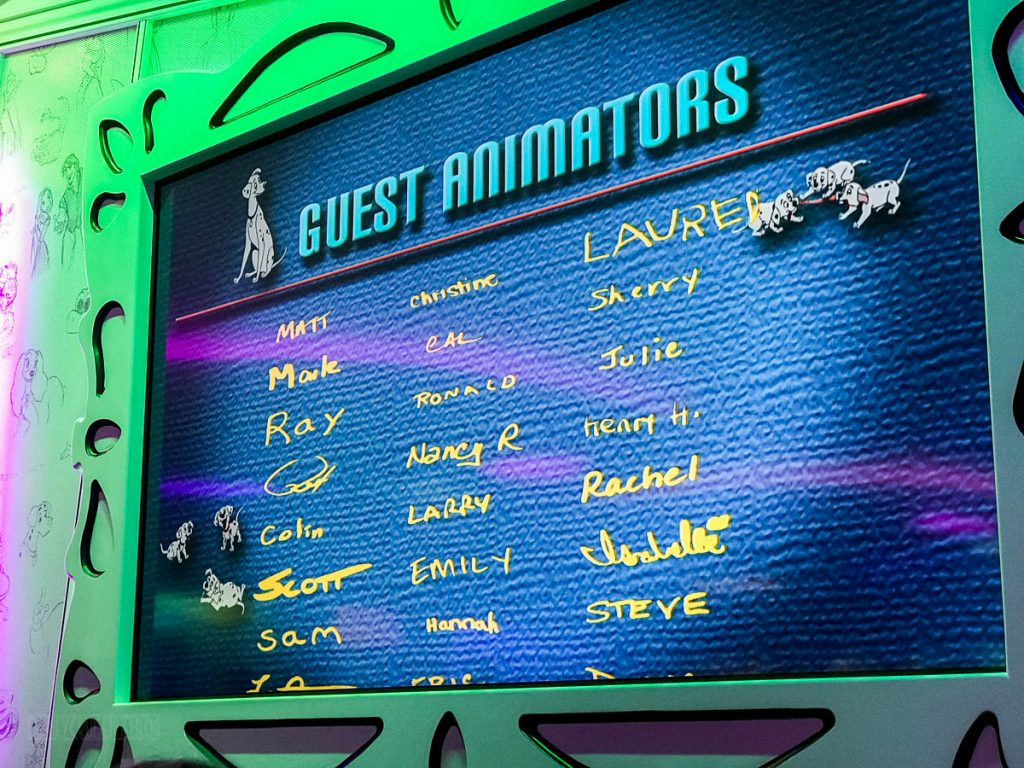 Animator's Palate Animation Magic Credits