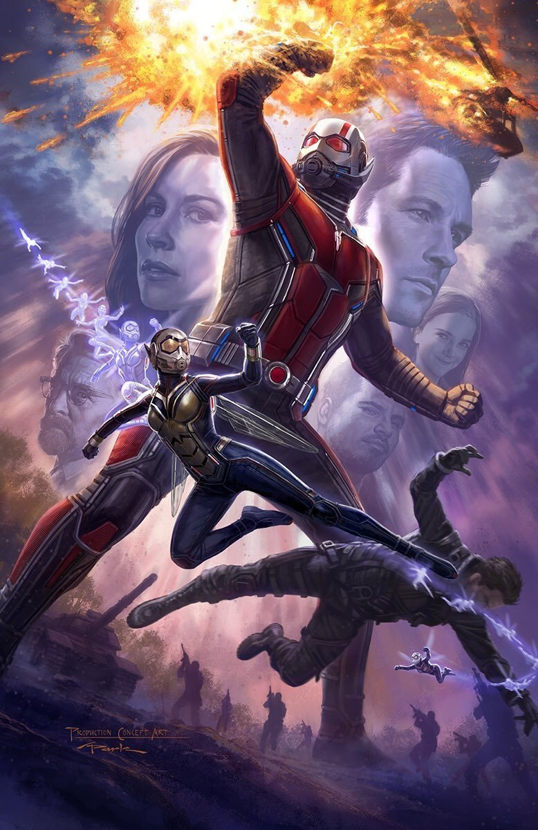 Ant Man And The Wasp Comic Con Movie Poster