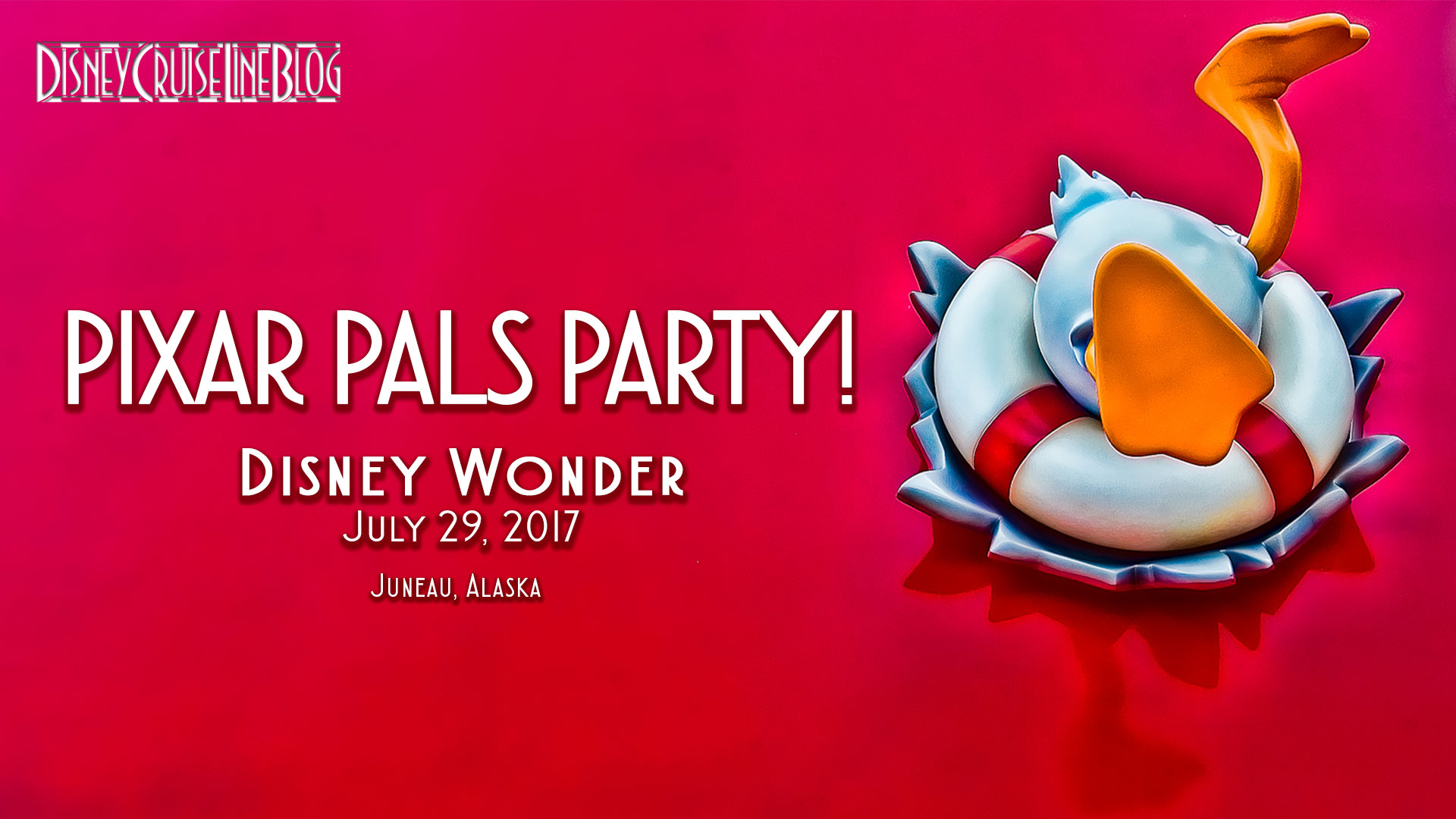 Disney Wonder Pixar Pals Party Video