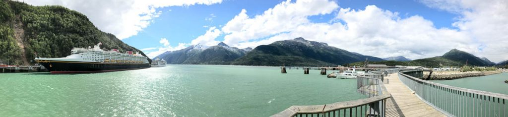 Disney Wonder Skagway Harbor
