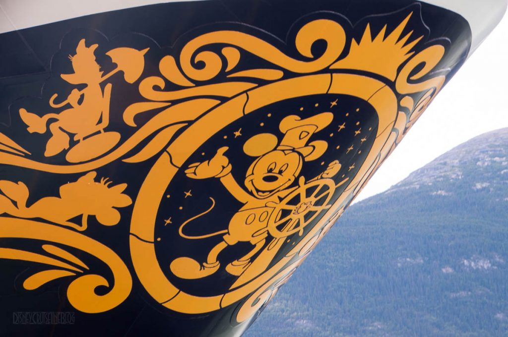 Disney Wonder Steamboat Willie Bow Skagway