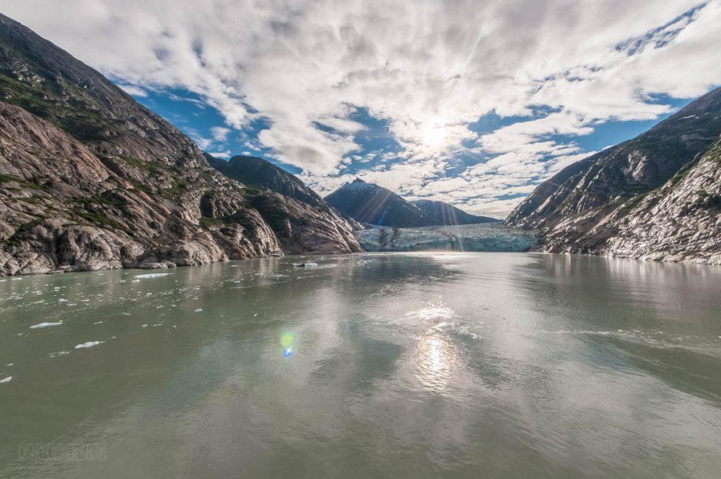 Endicott Arm Dawes Glacier Sun
